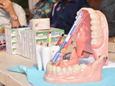 Kampagne Zahnreinigung und Mundhygiene
