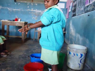 """Sensibilisierungskampagne """"richtig Hände waschen"""""""